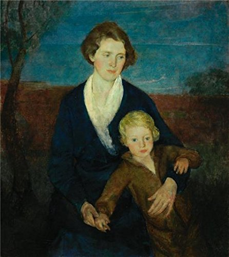 Oil Painting 'Charles Webster Hawthorne,Mother And Child,1917-1920' Printing On Perfect Effect Canvas , 10x11 Inch / 25x28 Cm ,the Best Garage Decor And Home Gallery Art And Gifts Is This Amazing Art Decorative Prints On (Hawthorne Wardrobe)
