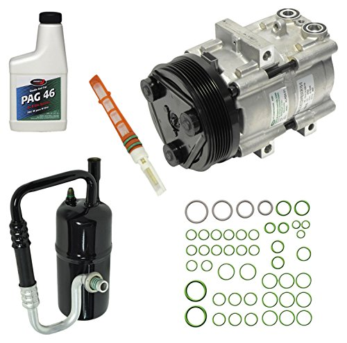 Mazda Tribute Ac Compressor - Universal Air Conditioner KT 1523 A/C Compressor and Component Kit