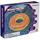 Greenco 2196 Giant Inflatable Donut with Sprinkles Float