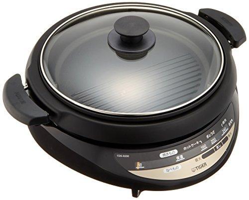 TIGER grill pan two types Brown CQG-B200-T [並行輸入品]   B07412CS7D