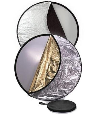 B22 Disk Drive - STUDIOHUT SH-B22-90158 22-Inch (56cm) 5-In-1 Round Multi Reflector Disk with Carry Bag (Multiple)