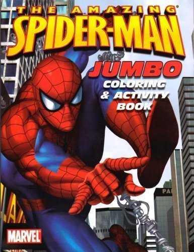 (Spider-man Jumbo Coloring and Activity Book ~ Web)