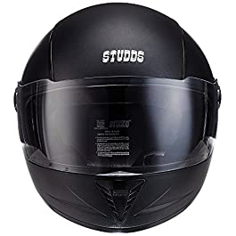 Studds Rk Studds Profession Full Face Men's Helmet (Black, Large)