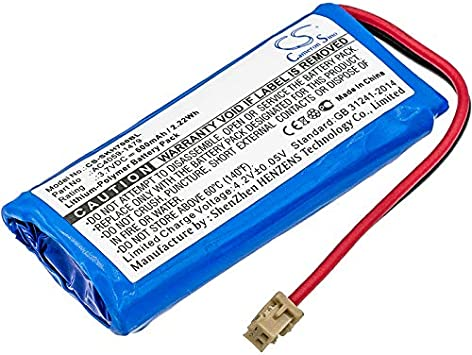 Replacement Battery Part No.AC4059-1479 for Socket Mobile CHS 7Qi CHS 7XiRx CHS 7XRx CHS 7Xi Barcode Scanner Battery CHS 7X