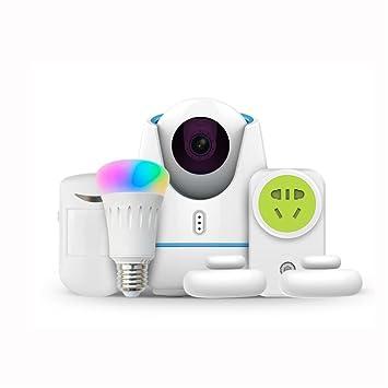 WLY&HOME Cámara Video Vigilancia y Vigila Kit,(RGB Smart ...