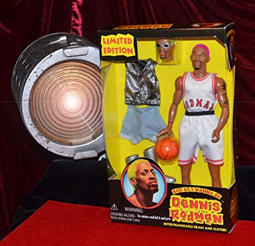 DENNIS RODMAN Bad As I Wanna Be Action Figure DOLL, MINT in BOX! Rare 12