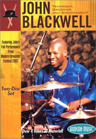 DVD : John Blackwell - Technique Grooving and Showmanship (2 Disc)