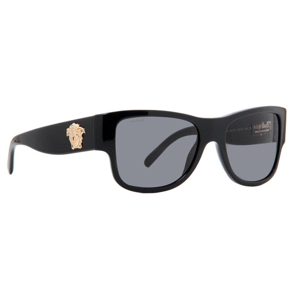6477f489145 Amazon.com  VERSACE Sunglasses VE 4275 GB1 81 Black   Grey Polarized Lens  Size  (mm)  56mm  Sports   Outdoors