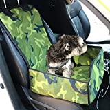 Paws Up Pet Seat Cover Scratch Proof Waterproof Nonslip Heavy Duty Dog Hammock Easy Clean Dog Car Seat Covers Pet Back Seat Covers for Car,Truck and SUV (Medium, Camouflage)