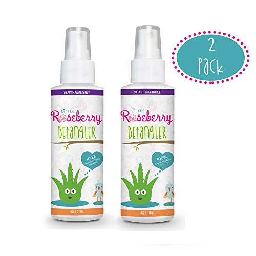 Hair Detangler Spray for Kids. Made with Organic Aloe Ver...
