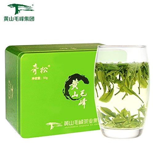 Yuqian Yellow Mountain Fuzz Tip Huangshan Maofeng Green Tea Qisong Chinese Green Tea 50g - Huangshan Maofeng Green Tea