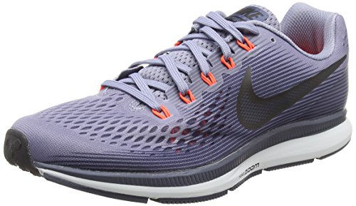 NIKE Mens Air Zoom Pegasus 34 Running Shoe Dark Sky Blue/Obsidian/Thunder Blue 6 D(M) US ()