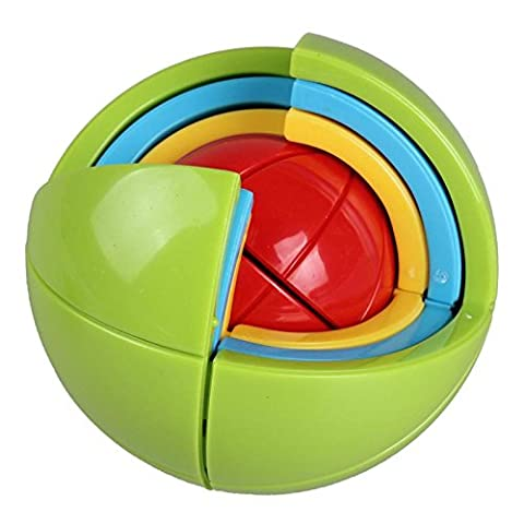 SainSmart Jr. Puzzle Ball Wisdom Ball 3D Intelligence Ball Game Magic Puzzle 21 Pcs