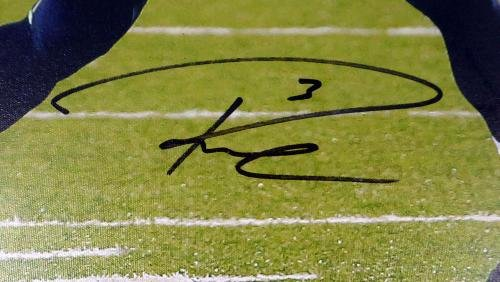 Russell Wilson Autographed Signed Framed 24x30 Canvas Photo Seahawks Rw 125709 Autographed NFL Art