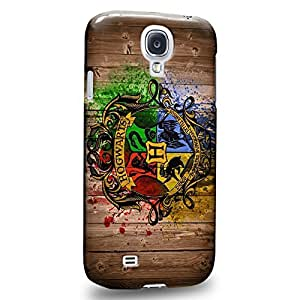 Case88 Premium Designs Harry Porter Hogwarts School of Witchcraft and Wizardry Sign 0919 Protective Snap-on Hard Back Case Cover for Samsung Galaxy S4