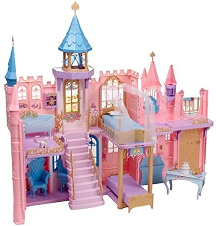 Barbie castle doll house