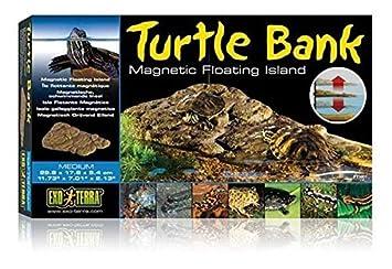 Exo Terra Isla para Tortuga Magnética Mediana: Amazon.es: Productos para mascotas