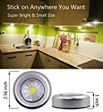 UOTOO Bright Tap Light, Wireless Cob Led Push