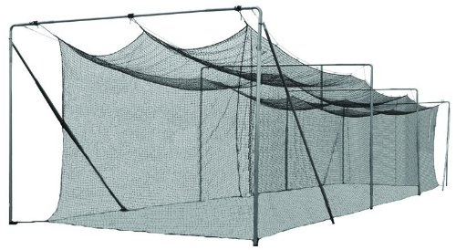 Cimarron Outdoor Sports Gaming Accessories 70x12x12 #36 Twisted Poly Batting Cage Net ()