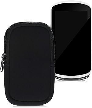 kwmobile Funda Compatible con Consola Garmin Edge 1030/1030 Plus / 1000 - Estuche Blando de Neopreno con Cremallera Negro: Amazon.es: Deportes y aire libre