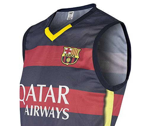 Rass Collection Barcelona Sleeveless Soccer Jersey MMW3377 L/XL (Us Soccer Centennial compare prices)