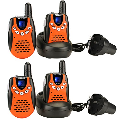 Retevis RT602 Kids Walkie Talkies Rechargeable PMR446 License-free Toy Gift...