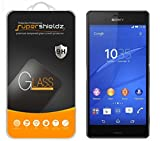 xperia z3 warranty - [2-Pack] Supershieldz for Sony Xperia Z3 Tempered Glass Screen Protector, Anti-Scratch, Anti-Fingerprint, Bubble Free, Lifetime Replacement Warranty