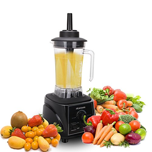 Professional Blender, UFire-MOOSHA 2L Commercial Blender and High Performance Food Processor for Ice, Smoothies, Fruit, Vegetable (1800W)