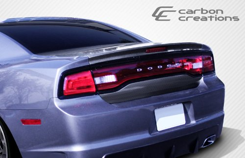 Carbon Creations ED-ZKT-859 OEM Trunk - 1 Piece Body Kit - Compatible For Dodge Charger 2011-2014 - Oem Trunk Kit Body