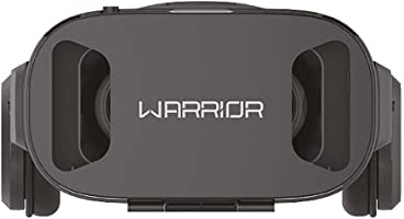 Warrior Js086 Óculos 3d Realidade Virtual Com Headphone - Android