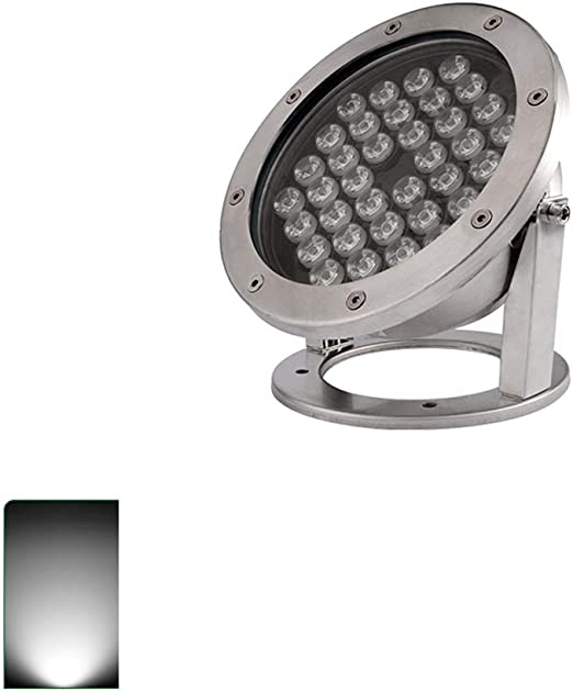 KMYX 24W Impermeable IP68 Impermeable Proyector LED Subacuático ...