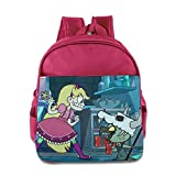 Brittney Party Star Vs. The Forces Of Evil Toddler School Bag Pink