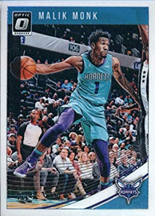 Amazon.com  2018-19 Donruss Optic  28 Malik Monk Charlotte Hornets ... e003929b3