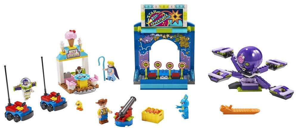LEGO 4+ Buzz y Woody: Locos por la Feria, Set de Construcción con Atracciones de Juguete, Incluye Minifiguras (10770): Amazon.es: Juguetes y juegos