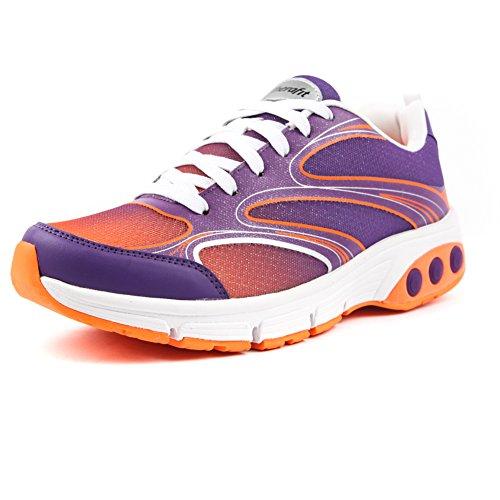 Therafit Shoe Women's Arielle Mesh Athletic Shoe 7 Purple