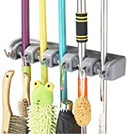 Home-Neat Mop and Broom Holder Wall Mount Garden Tool Storage Tool Rack Storage & Organization for the Hom