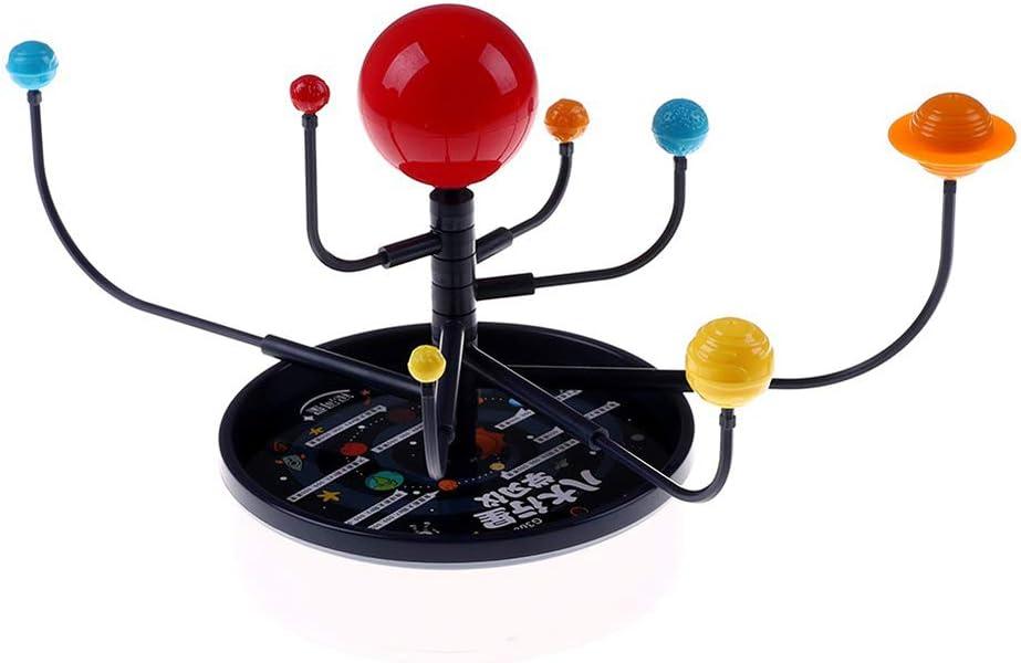 smallwoodi DIY Model Toy DIY Eight Planets Solar System Model Assembling Teaching Aids Kids Education Toy Birthday Gift