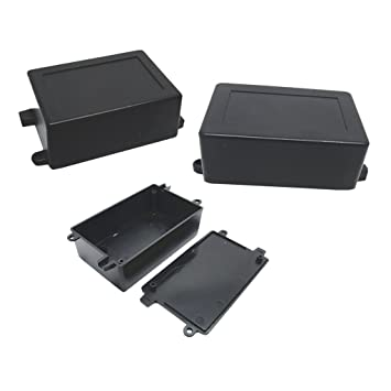 MonkeyJack 3 Pieces ABS Plastic Enclosure Small Project Box For ...