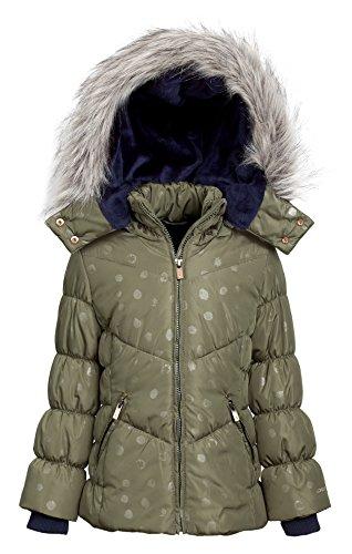 London-Fog-Girls-Down-Alternative-Hooded-Winter-Snow-Puffer-Bubble-Jacket-Coat