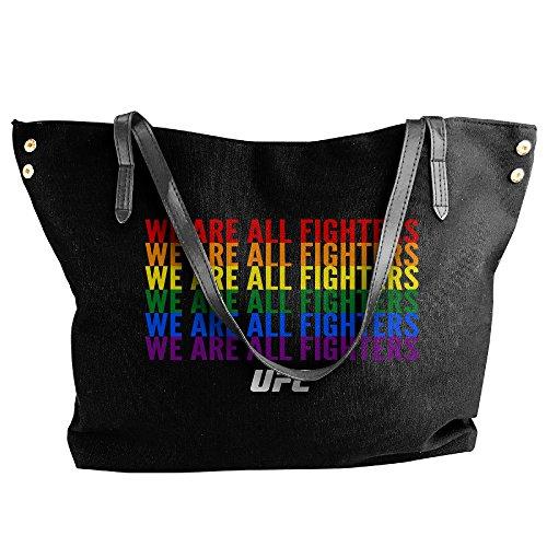 Girl Costume Fighter Ufc (UFC We Are All Fighters LGBT LGBTQ Handbag Shoulder Bag For)