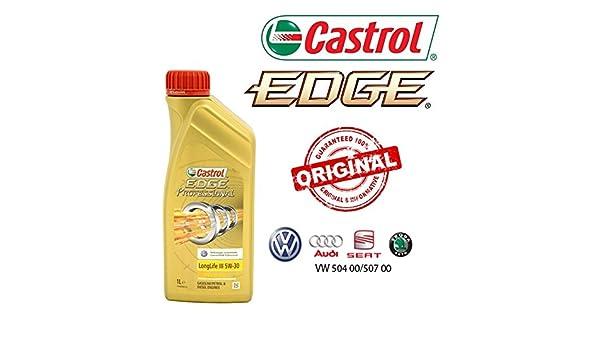 Castrol - Aceite de motor de coche Edge Professional Longlife III 5W ...