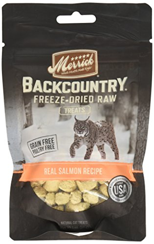 Merrick Backcountry Pacific Salmon Recipe Treats for Cats, 1