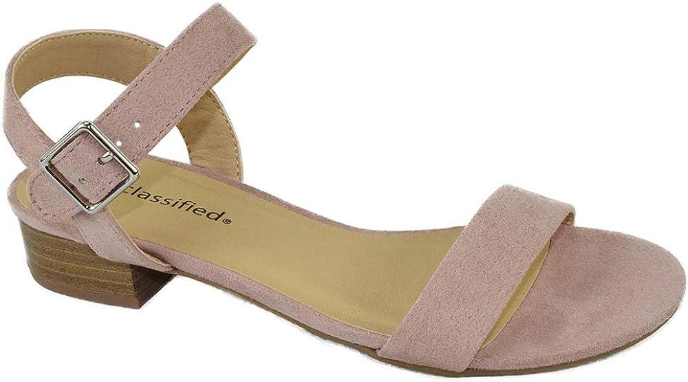 Details about  /Womens Trendy Summer Peep Toe Ankle Strap Sandals Pumps Mid Heels Elegant Shoes