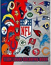 NFL team logos coloring book
