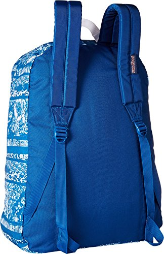 Jansport Superbreak Backpack, Midnight Sky Floral Stripe, One Size