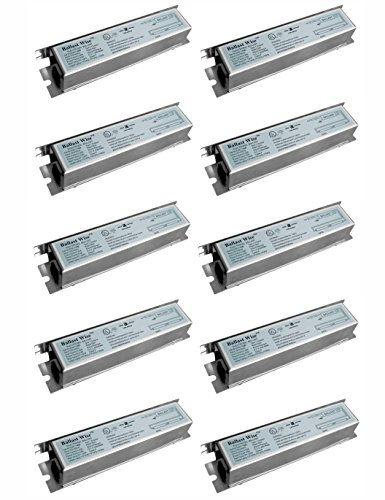 10 pack BallastWise T5 ballast DXE114M5 for 1 F14T5, F13T5 or F8T5 Tube, 120V 14W with wires ()