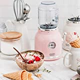 Retro New Juicer Fruit Bumper Multi-Function Small Juice Machine Kitchen Milkshake Home Portable (Pink)