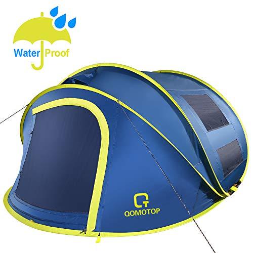 🥇 OT QOMOTOP 4 Person Pop up Tent