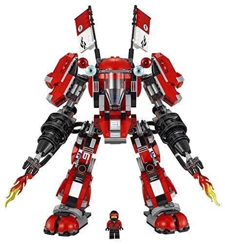 The LEGO Ninjago Movie LEGO 70615 STICKER SHEET Fire Mech