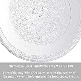 Universal 12.75'' Microwave Glass Turntable Tray
